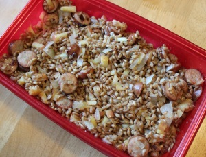Chicken Apple Sausage Farro