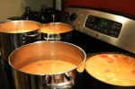 4 pots of soup!!